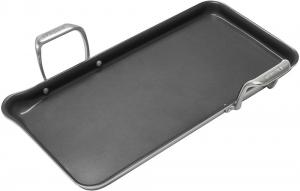 19 Inch Induction 21 Steel Ceramic Coated Nonstick Tri-Ply Griddle